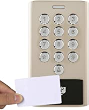 Door Access Keypad System, Access Control Kit, Security Night Luminous Security System Door Access Control Kit for Offices...