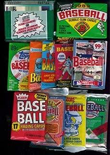 25 Original Unopened Packs of Vintage Baseball Cards (1980s-1990s) [Toy]