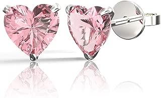 Best heart earrings pink Reviews