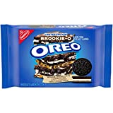 1 resealable 13.2 oz pack of Limited edition OREO Brookie-O Flavored Creme Chocolate Sandwich Cookies. Try a sweet twist on the original OREO you know and adore. These chocolate wafer cookies are filled with brownie, cookie dough, and OREO original f...