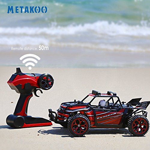 Metakoo RC  MK-H1801B Geländewagen | Mit High Speed 20 km / h | Maßstab 1:18 4x4 Schnelle Race Truck, 2,4 GHz Fernbedienung