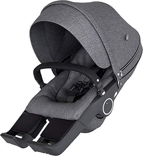 Stokke® Siège pour Xplory V6 accessoires pour poussette, Black Melange