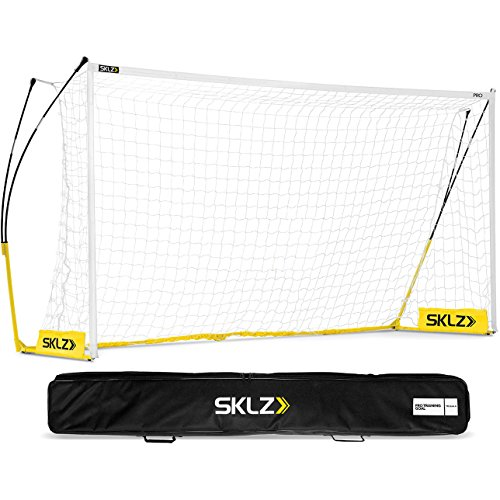SKLZ Pro Training Lightweight Portable Soccer Goal and Net, 18.5 x 6.5 Feet