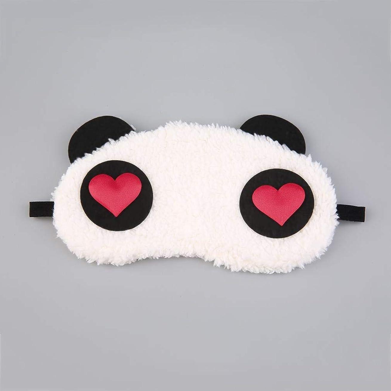 かき混ぜる利用可能百万NOTE マスク用睡眠かわいいパンダ睡眠フェイスアイ目隠しアイシェード通気性子供女性旅行カバーヘルスケアエイドアイパッチツール