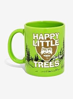 Bob Ross Happy Little Trees Ceramic Mug