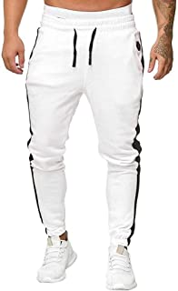 Men Solid Long Pants Sport, Male Sweatpants Pants Long Trousers Tracksuit Fitness Workout Joggers