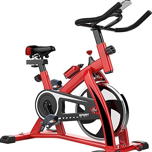 Bicicleta de Spinning La resistencia de bicicleta de ejercicios asiento ajustable de transmisión del cinturón Infinity for el entrenamiento cardio fitness en casa y el estudio de carga de 200 kg Entre