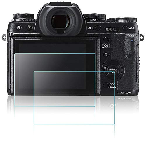 Displayschutzfolie für Fujifilm X-T1 X-T2 Kamera, masstimo 3 Pack gehärtetem Glas LCD Display Schutz Guard für Fujifilm X-T1 X-T2 DSLR-Kamera