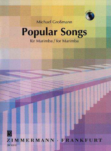 Popular Songs: Marimbaphon. Ausgabe mit CD.