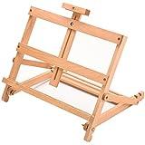 Arpan Art & Craft Work Station Table Wooden Artist Easel Large Drawing Adjustable Desk Easel