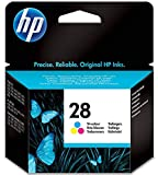 HP C8728AE 28 Original Ink Cartridge, Tri-Colour, Single Pack