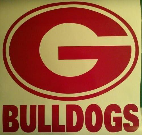 Georgia Bulldogs Cornhole San Jose Mall Decals Decal Direct stock discount - 2 Vinyl