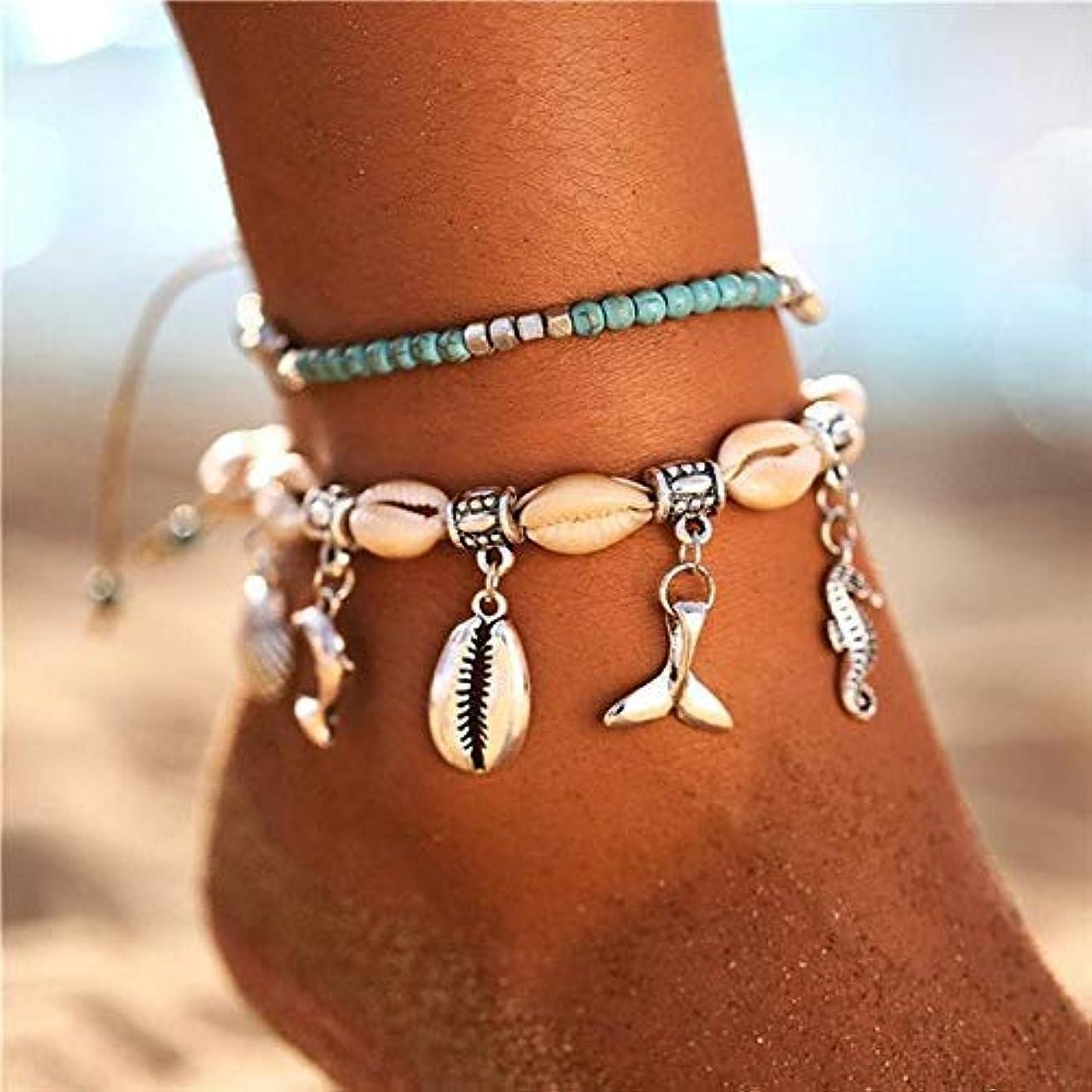 Anklet Bracelet - Anklet Cowrie Cowry For Women New Stone Beads Shell Anklet Bracelet