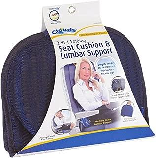 Cloudz 2-in-1 Memory Foam Seat Cushion & Lumbar Support