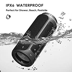 Bluetooth Speaker 30W Waterproof Bluetooth Speakers Portable Wireless Loud Stereo Sound & Enhanced X-Bass Speaker Bluetooth 5.0, Built-in Mic, IPX6 for Home Party, Shower, Outdoor, Travel
