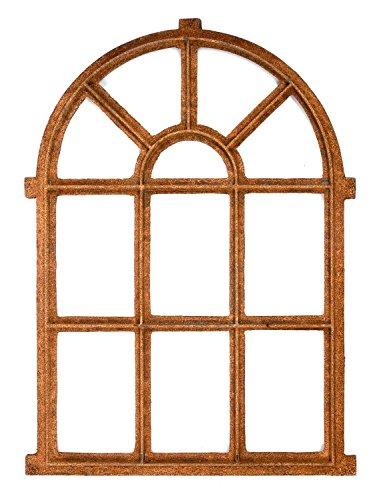 aubaho Nostalgie Stallfenster Fenster 94x67cm Eisen Gusseisen Scheune Rost antik Stil