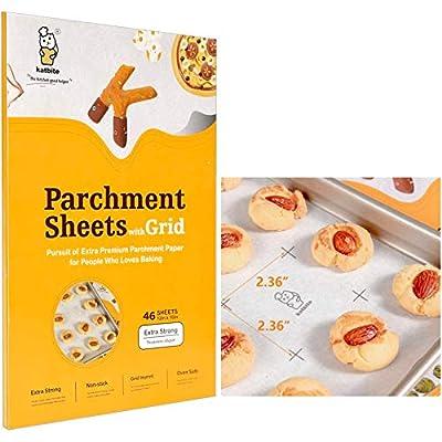 Amazon - Save 30%: Katbite Heavy Duty Parchment Paper Sheets for Cookies, 12×16 Inch Parc…