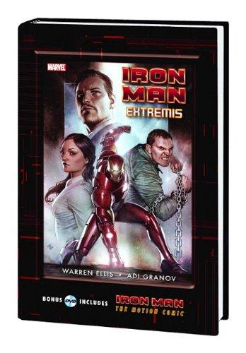 IRON MAN EXTREMIS HC W/ MOTION COMIC DVD