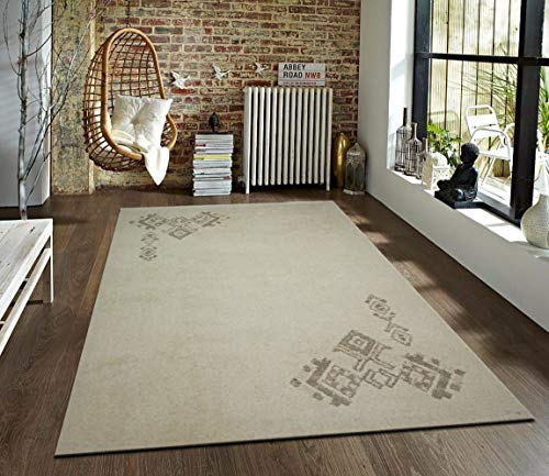 TrendyLiving4U tapijt woonkamer laagpolig origineel Marokko-Berber handwerk 200x250cm