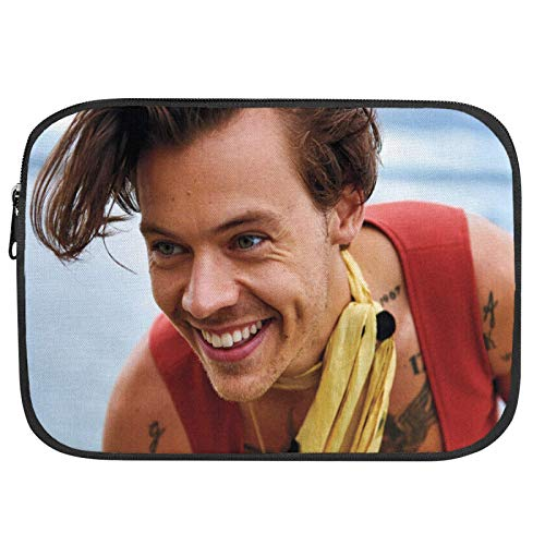 Harry Styles Laptop Sleeve Case Notebook Computer Protective Bag Tablet Briefcase Carrying Bag for Office Worker