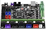 3D Printer MKS Gen-L V1.0 Controller Board, MKS Integrated Mainboard Motherboard Compatible with Ramps1.4, Supports TMC2100 A4988 8825 Driver, LCD2004 LCD12864 TFT28 TFT32