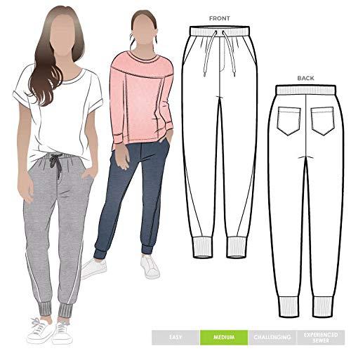 Style Arc Naaipatroon - Joni Gebreide Track Broek Sizes 18-30