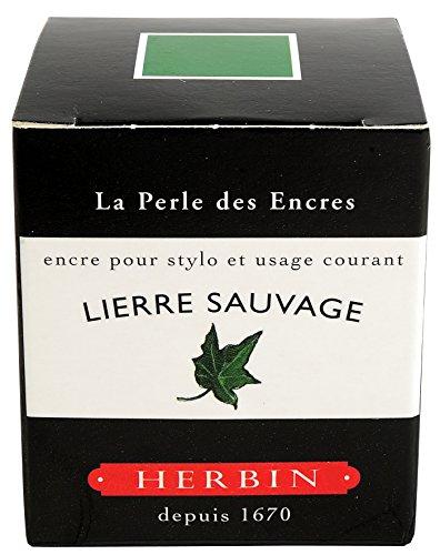 J.Herbin 13037T - Tinta para pluma estilográfica (30 ml), color verde hiedra