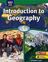 Geography Middle School, Introduction to Geography: Student Edition 2009