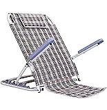 HFAFRZ Reposapiés de cama con tela multifunción, respaldo reclinable de 6 posiciones, ajustable cómodo con ayuda...