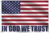 VAFLAG American in God We Trust Patriotic...