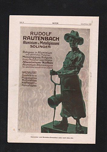 Pouplier Kabel Hagen Westfalen Rudolf Rautenbach Solingen Reklame