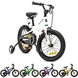 NB PARTS Kinderfahrrad für Mädchen und Jungen BMX Bike ab 3 Jahre 12 Zoll / 16 Zoll