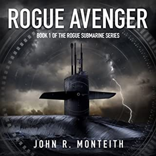 Rogue Avenger audiobook cover art