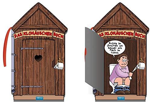 Trötsch Das Klohäuschenbuch Toilettenpapier Klopapier: Klobuch, Klohäuschenbuch, lustiges Buch, Cartoons, Witzbuch, Geschenkbuch, Klohäuschen