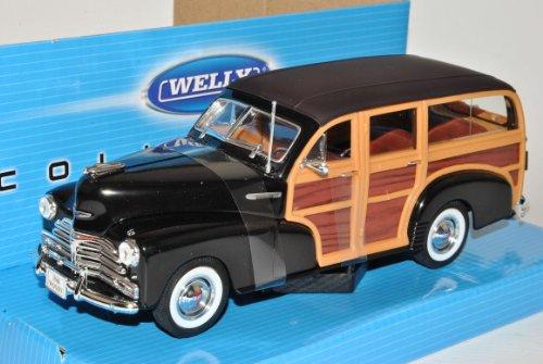 Welly Chevrolet Chevy Fleetmaster 1948 Schwarz 1/24 Modell Auto