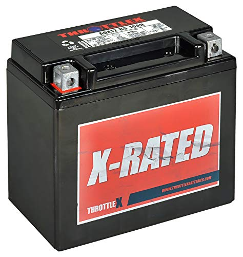 Throttlex Batteries ADX12-BS AGM Replacement Power Sport Battery