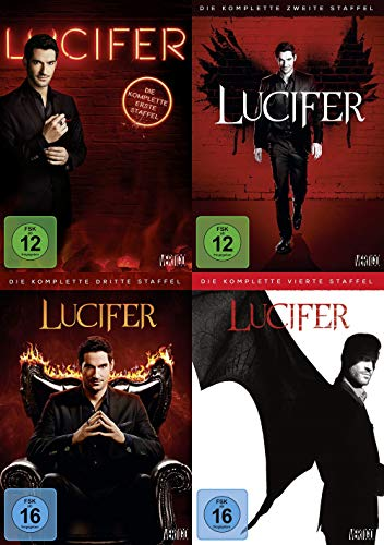 Lucifer - die kompletten Staffeln 1 2 3 4 – TV-Serie 13 DVD Collection