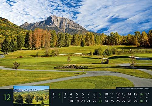 Golf 2018 – Sportkalender / Golfkalender international (49 x 34) - 13