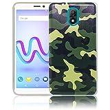 Wiko Lenny 5 Passend Camouflage Handy-Hülle Silikon - staubdicht, stoßfest und leicht - Smartphone-Case