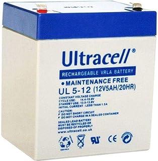 بطارية التراسيل UL5-12 (بطارية الرصاص ذو الصمام المنظم) VRLa حمض الرصاص،12 فولت 5 امبير