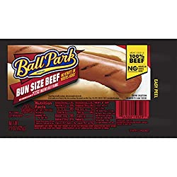 Ball Park, Bun Size Beef Franks, 15 Ounce