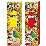 Cliffi sticks per pappagallini ed esotici con frutta e miele Fruit 60 gr