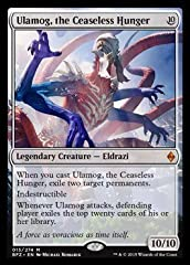 A single individual card from the Magic: the Gathering (MTG) trading and collectible card game (TCG/CCG). This is of Mythic Rare rarity. From the Battle for Zendikar set.