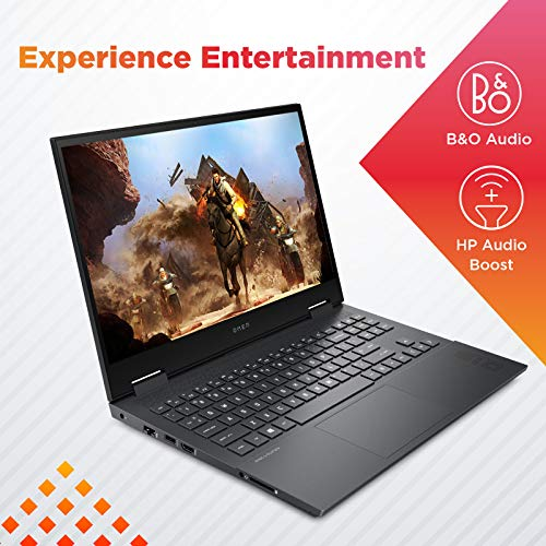 HP Omen 15.6-inch FHD Gaming Laptop (Ryzen 7-4600H/8GB/512GB SSD/Windows 10/NVIDIA GTX 1650ti 4GB/Shadow Black/2.36 kg), 15-en0004AX