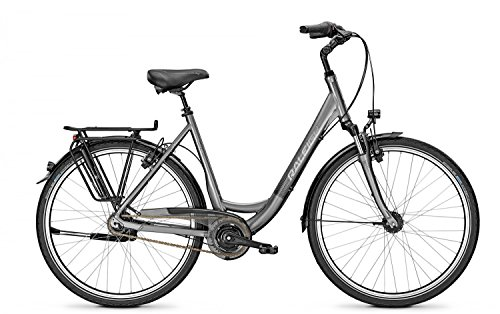 Citybike Raleigh UNICO XXL 8-Gang Wave 28\' bis 170 kg belastbar Freilauf , Rahmenhöhen:55;Farben:Torontogrey