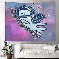 ツリーシャドウフライングバードタペストリー動物青空自然水彩風景画家の装飾タペストリー寝室のリビングルームCollege.24zhant2