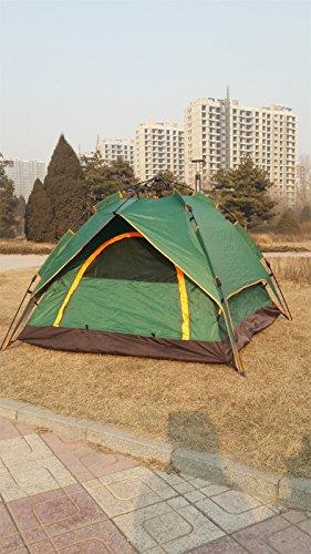 HONEYY Pliable de Plein air Tente de Camping Tente de Camping Tente automatiquement de 3 à 4 plages de Sable Fin de l'utilitaire Automatique 2 * 2 * 1.35m tentes, Section B