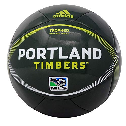 adidas Portland Timbers Tropheo MLS Soccer Ball. Full Size (#5)