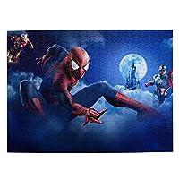 アベンジャーズ-スパイダーマン (272) マイクロピース 500ピース ジグソーパズル 書架-木製パズル 絵画 大人 向け(6歳以上が適しています)(52.2x38.5cm)