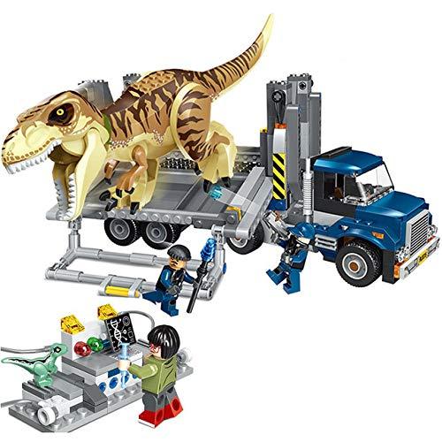 LON Jurassic World 2 Carnotaurus Gyrosphere Escape Bloques de construcción Ladrillos Juguetes niños Dinosaurio dragón con Figuras, 39116